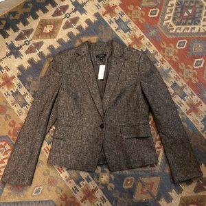 NWT tweed Ann Taylor blazer size 12